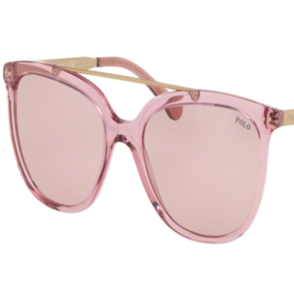 POLO Other - NWT Polo PH 4135 568684 Pink Sunglasses